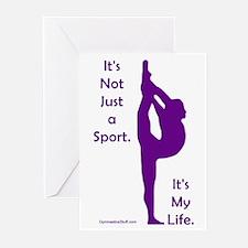 Gymnastics Cards - Life