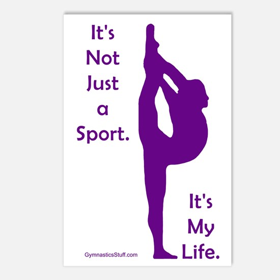 Gymnastics Postcards - Life