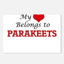 My heart belongs to Parak Postcards (Package of 8)