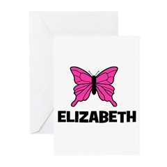 Butterfly - Elizabeth Greeting Cards (Pk of 20)