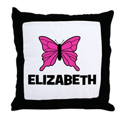 Butterfly - Elizabeth Throw Pillow