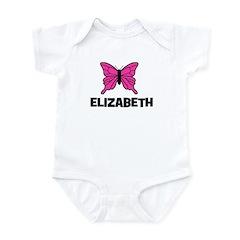 Butterfly - Elizabeth Infant Bodysuit