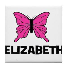 Butterfly - Elizabeth Tile Coaster