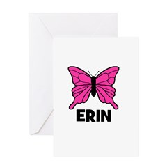 Butterfly - Erin Greeting Card