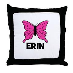 Butterfly - Erin Throw Pillow