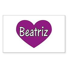 Beatriz Rectangle Decal