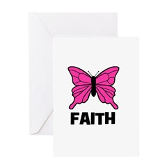 Butterfly - Faith Greeting Card