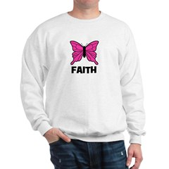 Butterfly - Faith Sweatshirt