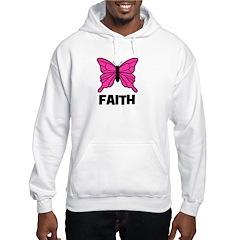 Butterfly - Faith Hooded Sweatshirt