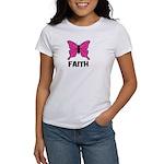 Butterfly - Faith Women's T-Shirt