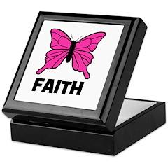 Butterfly - Faith Keepsake Box