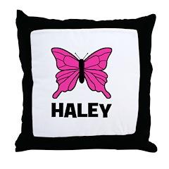 Butterfly - Haley Throw Pillow