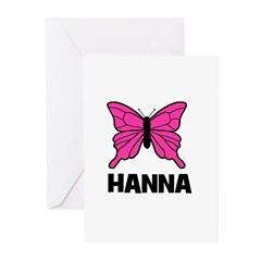 Butterfly - Hanna Greeting Cards (Pk of 10)