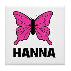Butterfly - Hanna Tile Coaster