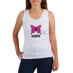 Butterfly - Hope Women's Tank Top