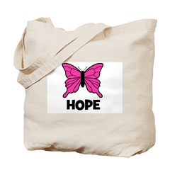 Butterfly - Hope Tote Bag