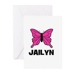 Butterfly - Jailyn Greeting Cards (Pk of 20)
