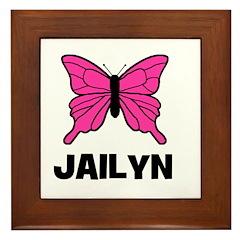 Butterfly - Jailyn Framed Tile