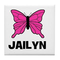 Butterfly - Jailyn Tile Coaster