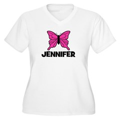 Butterfly - Jennifer T-Shirt