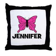 Butterfly - Jennifer Throw Pillow