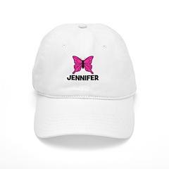 Butterfly - Jennifer Baseball Cap