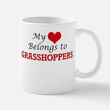 My heart belongs to Grasshoppers Mugs