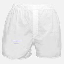 Procrastinator Boxer Shorts