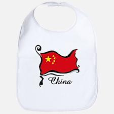 Funky Chinese Flag Bib