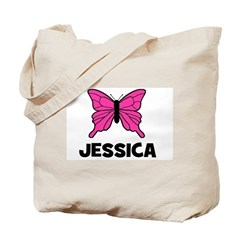 Butterfly - Jessica Tote Bag