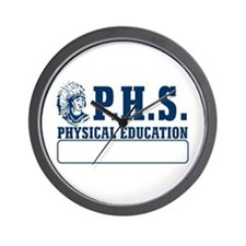 P.H.S. Physical Education Wall Clock