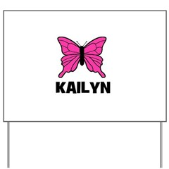 Butterfly - Kailyn Yard Sign
