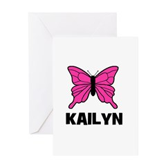 Butterfly - Kailyn Greeting Card