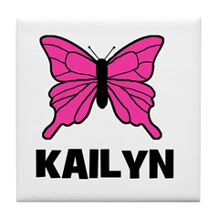 Butterfly - Kailyn Tile Coaster