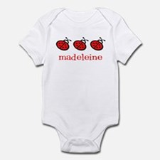 Madeleine - ladybugs Infant Bodysuit