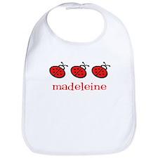 Madeleine - ladybugs Bib