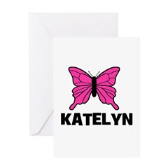 Butterfly - Katelyn Greeting Card