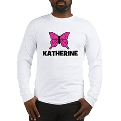 Butterfly - Katherine Long Sleeve T-Shirt