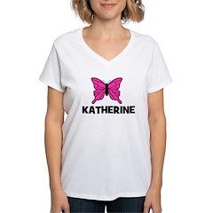 Butterfly - Katherine Women's V-Neck T-Shirt
