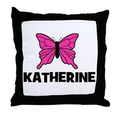 Butterfly - Katherine Throw Pillow