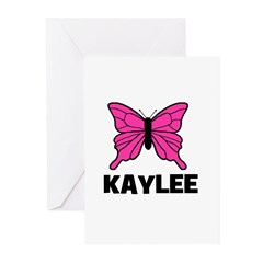 Butterfly - Kaylee Greeting Cards (Pk of 10)