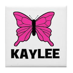 Butterfly - Kaylee Tile Coaster