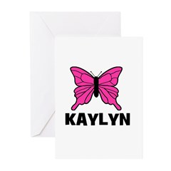 Butterfly - Kaylyn Greeting Cards (Pk of 20)