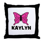 Butterfly - Kaylyn Throw Pillow
