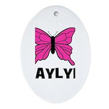 Butterfly - Kaylyn Oval Ornament