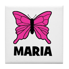 Butterfly - Maria Tile Coaster