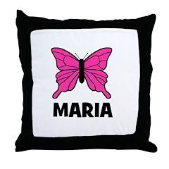 Butterfly - Maria Throw Pillow