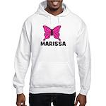 Butterfly - Marissa Hooded Sweatshirt