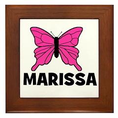 Butterfly - Marissa Framed Tile