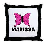 Butterfly - Marissa Throw Pillow